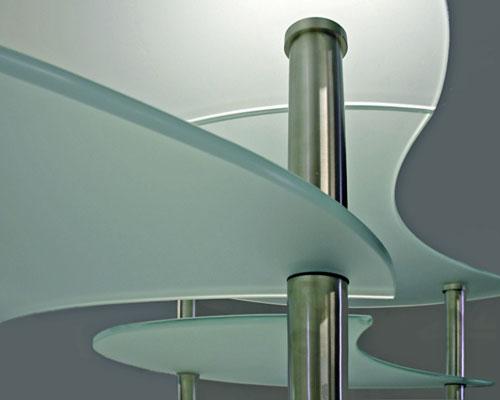 Steklena miza po meri
